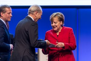 Picture of B20 Summit Handover of Recommendations to Chancellor Merkel