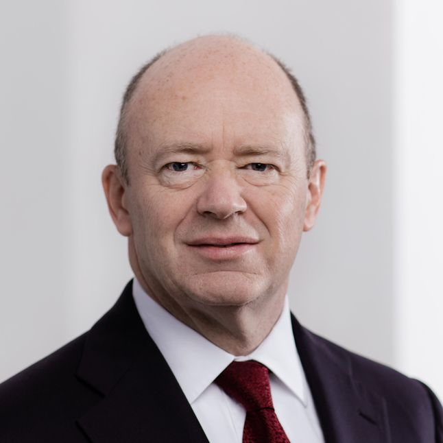 Picture of John Cryan, CEO Deutsche Bank