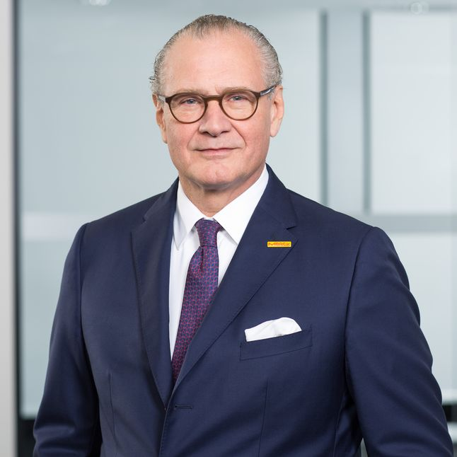 Picture of Stefan Oschmann, Chairman of the Executive Board & CEO of Merck