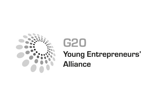 Logo of the G20 Young Entrepreneurs' Alliance (G20 YEA)